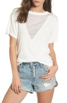 LIRA Women's Valley Mesh Inset Tee