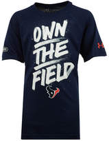Under Armour Houston Texans Combine Own The Field T-Shirt, Big Boys (8-20)