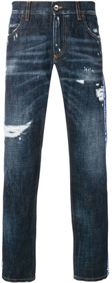 Dolce & Gabbana logo band jeans