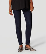LOFT Maternity Denim Leggings in Rinse Wash