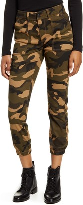 Prosperity Denim Camo Stretch Denim Joggers