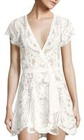 Flora Nikrooz Dorothy Embroidered Wrap