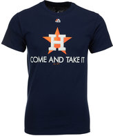 Majestic Men's Houston Astros Come and Take it T-Shirt