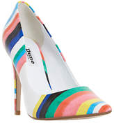 Dune Brazil Striped Court Shoes, Multi