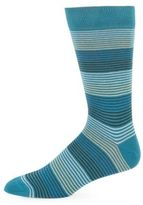 Saks Fifth Avenue Cigarette Striped Socks