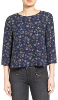 Cupcakes And Cashmere &Nadetta& Floral Print Blouse