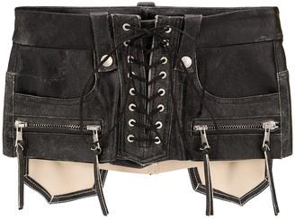 Unravel Project Lace-Up Waist Belt
