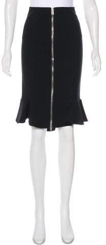 Givenchy 2017 Ruffle Skirt