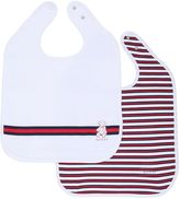 Gucci Set Of 2 Cotton Jersey Bibs