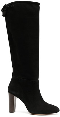 Tila March Dodge high heel knee-length boots