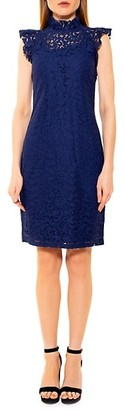 Alexia Admor Kendall Lace Cap-Sleeve Sheath Dress