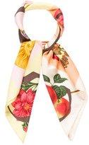 Gucci Silk Printed Scarf