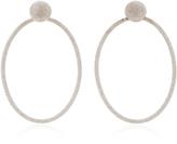 Carolina Bucci Florentine Large Oval Doorknocker Earrings