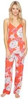 Josie Enchanted Garden Tank/Pants PJ Women's Pajama Sets