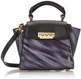 Zac Posen ZAC Eartha Mini Leather Top Handle Bag