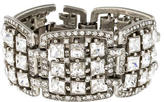Ben-Amun Ben Amun Square Crystal Links Bracelet
