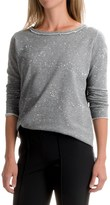 525 America Boxy Splash Sweatshirt - Cropped Length (For Women)