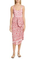 Etro Paisley Cover-Up Wrap Skirt