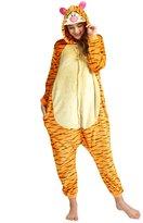 Ninimour Unisex Adult Kigurumi Pajamas Cosplay Costume Sleepwear Yellow L