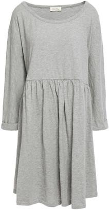 American Vintage Bysapick Melange Cotton-jersey Mini Dress