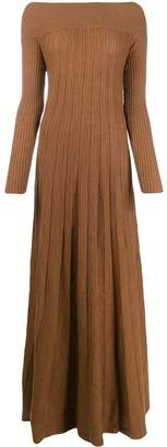 L'Autre Chose pleated knit dress
