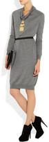 Lanvin Cowl-neck wool sweater dress