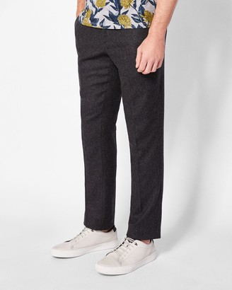 Ted Baker Textured Wool Trousers
