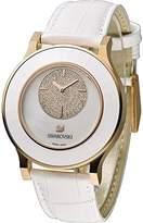 Swarovski Octea Classica asymmetric White Rose Gold Tone Watch 5095482