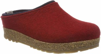 Haflinger Kris Grizzly Womens Open Back Slippers