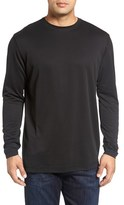 Bugatchi Long Sleeve Crewneck T-Shirt