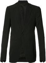 Rick Owens blazer jacket - men - Cork/Viscose/Wool - 50