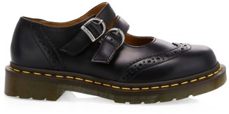 Comme des Garcons x Dr. Martens Double-Strap Leather Mary Janes
