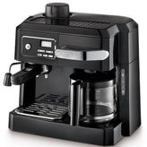 De'Longhi DeLonghi 10-Cup Combination Drip Coffee, Cappuccino and Espresso Machine in Black