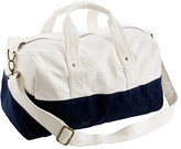 Kids' canvas overnight bag