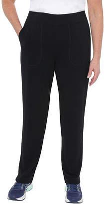 ST. JOHN'S BAY SJB ACTIVE Active Womens Straight Pull-On Pants
