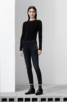 J Brand Zion Mid-Rise Skinny w/ Buttons in Transformation