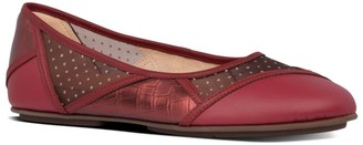 FitFlop Allegria Leather Ballerina Flat
