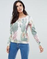 Only Aja Printed Sweatshirt