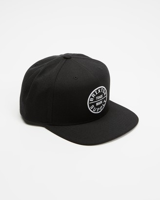 Brixton Black Caps - Oath III Snapback - Size One Size at The Iconic