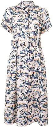 Rebecca Vallance Como short sleeve midi dress