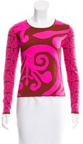 Sophie Theallet Intarsia Knit Top