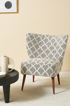 Anthropologie Kursi Petite Accent Chair By in White Size ALL