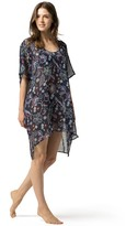 Tommy Hilfiger Sheer Paisley Tunic