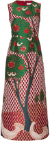 RED Valentino Jacquard A Line Dress
