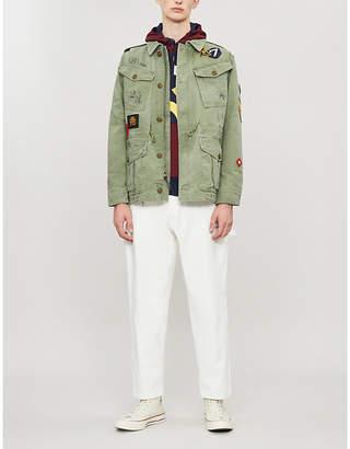 Polo Ralph Lauren Patchwork cotton military jacket