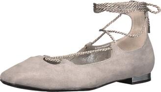 J. Renee J.Renee Women's ZURINA Loafer Flat Gray 9.5 W US