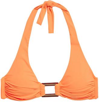 Melissa Odabash Paris Buckle-embellished Halterneck Bikini Top