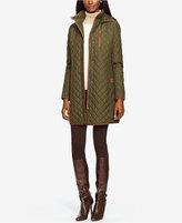 Lauren Ralph Lauren Quilted Coat, Only at Macy's