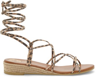 Vince Camuto Prasetta Ankle-Wrap Wedge Sandal