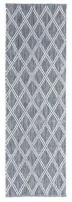 """Company C Harlequin Hand-Knotted Gray Heather Area Rug CompanyC Rug Size: Runner 2'6"""" x 8'"""